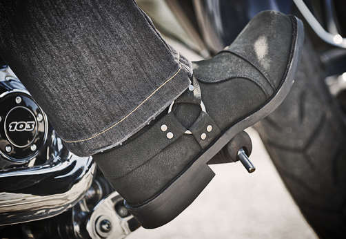 Speed Amp Strength Cruise Missile Leather Boots 2wheel