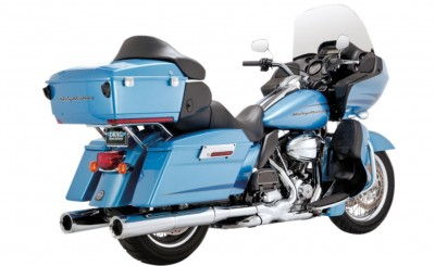 Vance & Hines Power Duals Head Pipes - Chrome [Warehouse Deal]