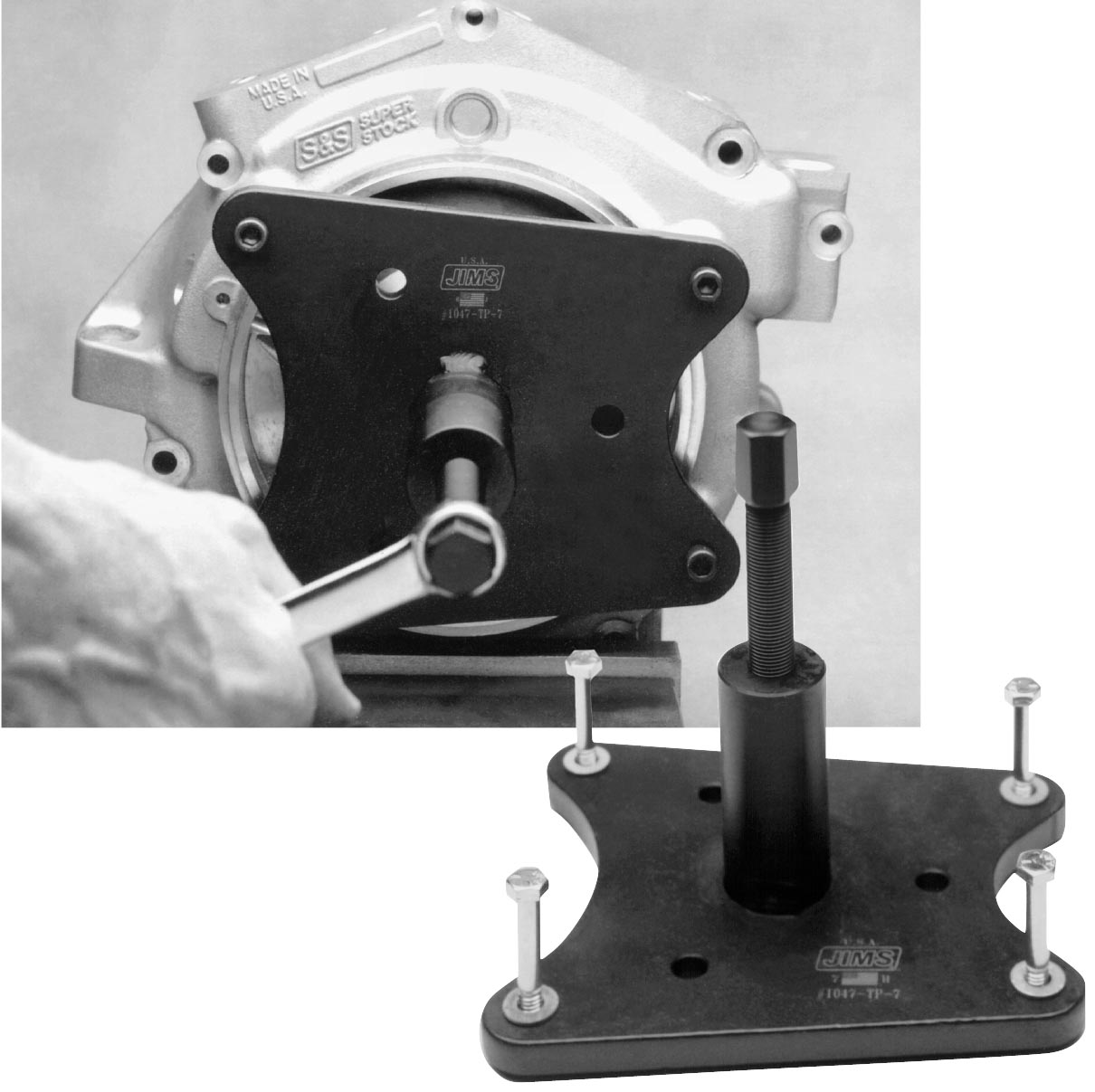 Jims Force Flow: Jims Crank Removal Tool