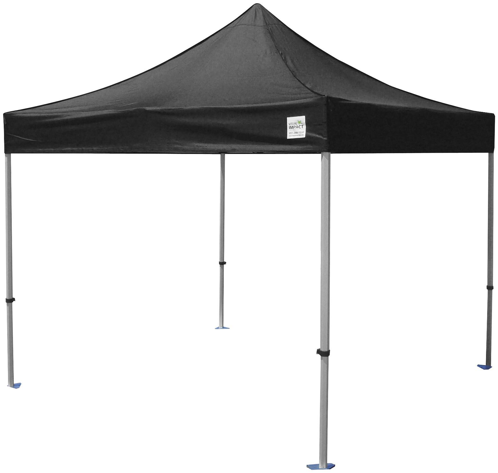 Motorcycle Metal Canopy : Norstar canopy black powder coated steel frame with
