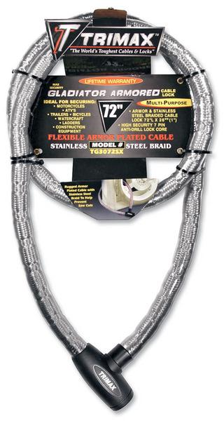 Trimax Gladiator Series Armored Cable 2wheel
