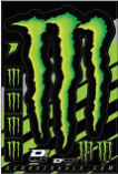 Dcor Monster Claw Decal Sheet