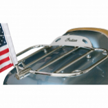 Pro Pad Flag Mount with USA Flag for .51in. Horizontal Round Bar