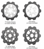 Lyndall Racing Brakes Crown Cut Friction Rings for TT Tracker and B-52 Carriers