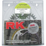 RK 520 Aluminum Quick Acceleration Chain/Sprocket Kits