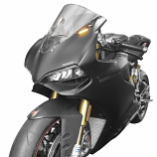 New Rage Cycles Mirror Block Off Turn Signals