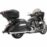 Bassani Manufacturing Road Rage 2-Into-1 Exhaust System with B1-Style Quick Change End Cap