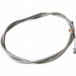 La Choppers Stainless Braided Clutch Cables
