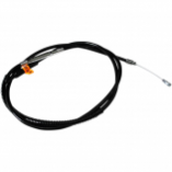 La Choppers Black Vinyl/Stainless Clutch Cable