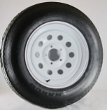 AWC Radial E/10 Ply, 8 Spoke, Trailer Tire/Wheel Kit