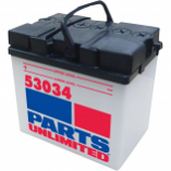 Parts Unlimited Conventional Battery