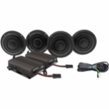 Wild Boar Audio Front/Rear Speaker Kit with 600-Watt Amp