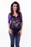 Lethal Threat In Control Raglan 3/4 Womens Shirts