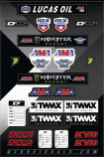 Dcor MX Outdoor Series Decal Sheets