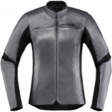 Icon Overlord Leather Womens Jacket