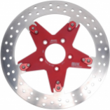 MJK Performance Floating 11.8in. Star Front Rotors