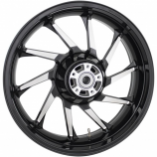 Coastal Moto Precision Cast Hurricane 3D Rear Wheels