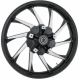 Coastal Moto Precision Cast Hurricane Custom 3D Front Wheels