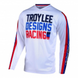 Troy Lee Designs GP Air Youth Premix 86 Jersey (White / Lg) [Warehouse Deal]