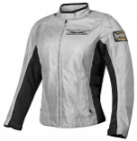 Honda COLLECTION Gold Wing Mesh Touring Womens Jacket (Gray / Md) [Warehouse Deal]