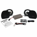 Hogtunes 7in. Fairing Lower Woofer Kit with 225 Amp