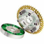 Alloy Art Universal Drive Chain Conversion System with Machined Carrier