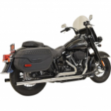 Bassani Manufacturing Dual Exhaust System with Straight Mufflers