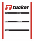 Tucker Rocky Tire Labels