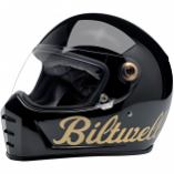 Biltwell Inc. Lane Splitter Gold Factory Helmets