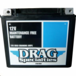 Drag Specialties AGM Factory Activated High-Performance Maintenance-Free Batteries