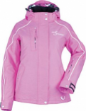 Divas SnowGear Lily Collection Womens Jacket (Pink Heather / 1XL) [Warehouse Deal]