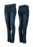 Speed & Strength True Romance Womens Armored Stretch Moto Jeans (Blue / 12) [Warehouse Deal]