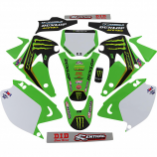 Dcor 2020 Monster Energy Kawasaki Complete Graphics Kits