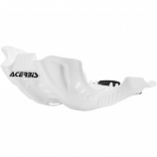 Acerbis MX Style Skid Plate - White/Black [Warehouse Deal]