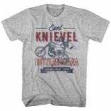 Evel Knievel Evel Butte T-Shirts