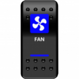 Moose Utility Fan Rocker Switch