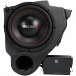 MB Quart 10in. Subwoofer System with One Amplifier