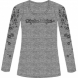 Troy Lee Designs Signature Floral Long Sleeve Womens T-Shirt
