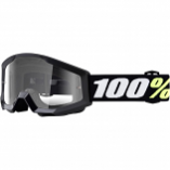 100% Strata Mini Youth Goggles (Goliath / Clear Lens) [Warehouse Deal]