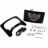 Custom Dynamics Turn Signal Eliminator with Tri-Radius Iluminated Plate Frames