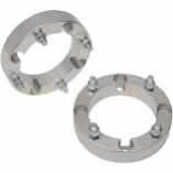 Moose Utility 1 1/2in. Aluminum Wheel Spacers - 4/110 Bolt Pattern - 10mm Stud [Warehouse Deal]