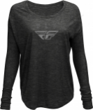 Fly Racing Fly Logo Womens Long Sleeve