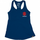 Factory Effex Suzuki Icon Womens Tank Top (Lg) [Warehouse Deal]