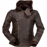 Z1R Indiana Brown Womens Jacket (Lg) [Warehouse Deal]