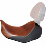 Saddlemen Lariat Solo Seat with Gel [Warehouse Deal]
