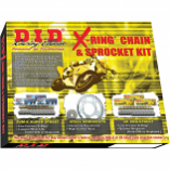 D.I.D X-Ring Chain and Sprocket Kit [Warehouse Deal]