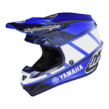 Troy Lee Designs SE4 Polyacrylite Yamaha RS1 Youth Helmet (Lg) [Warehouse Deal]
