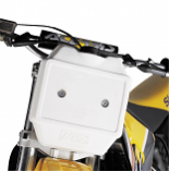 Acerbis Front Auxiliary Fuel Tank - 12in. x 8in. x 6.5in. - White - 1.6 gal. [Warehouse Deal]