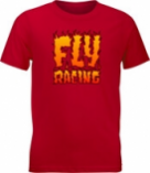 Fly Racing Boy?s Fly Fire T-shirts