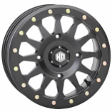 STI HD Beadlock A1 Front/Rear Wheel - 14x7 - 5+2 Offset - 4/156 - Matte Black [Warehouse Deal]
